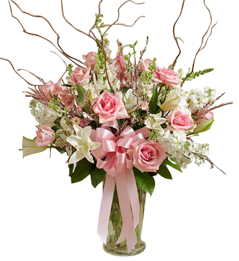 Pink Bouquet Prom