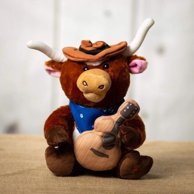 Animated Plush – Singing Longhorn