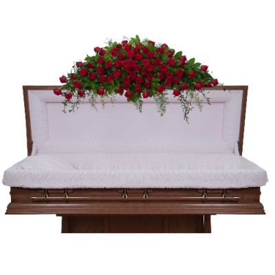 Royal Rose Full Casket Spray in Houston, TX