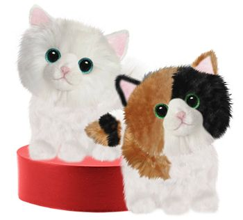 Fitz & Josie Plush kitties - set in Houston, TX