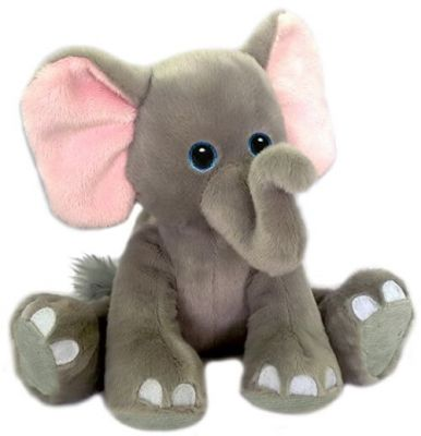 Lucy - the plush elephant in Houston, TX