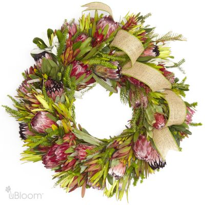 Protea Wreath in Houston, TX