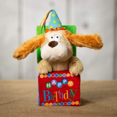 Animated Plush – Singing Birthday Dog