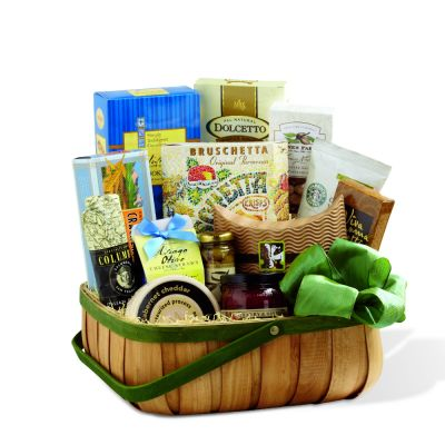 Gourmet Selection Gift Basket In Houston
