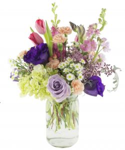 Flowers gifts under 50 scent violet flowers and gifts florist designed mason jars in houston negle Choice Image