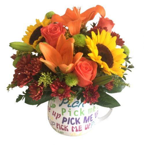 Pick me up bouquet in Houston, TX