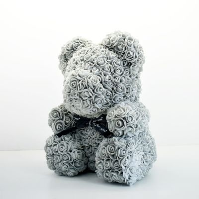 SOLD OUT Rose Bear - Gray in Houston, TX