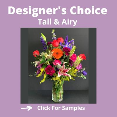 Florist designed arrangement - Tall Style  in Houston, TX