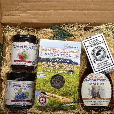 Gift Box - Wild Harvested Rice, Jelly, and Syrup