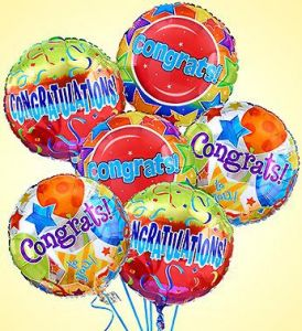 Congratulations Balloon Bouquet  in Houston, TX