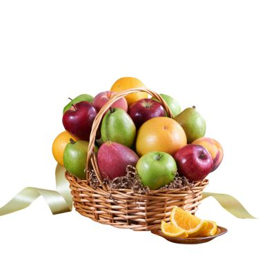 Seasonal Organic fruit gift basket  in Houston, TX