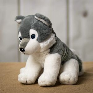 Plush - Sitting Husky in Houston, TX