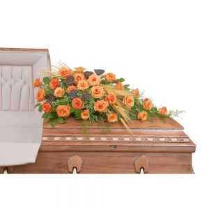 Fall Splendor Casket Spray in Houston, TX
