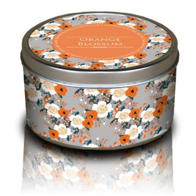 Floral Candle - Orange Blossom