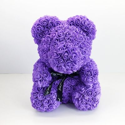 SOLD OUT Rose Bear - Purple in Houston, TX